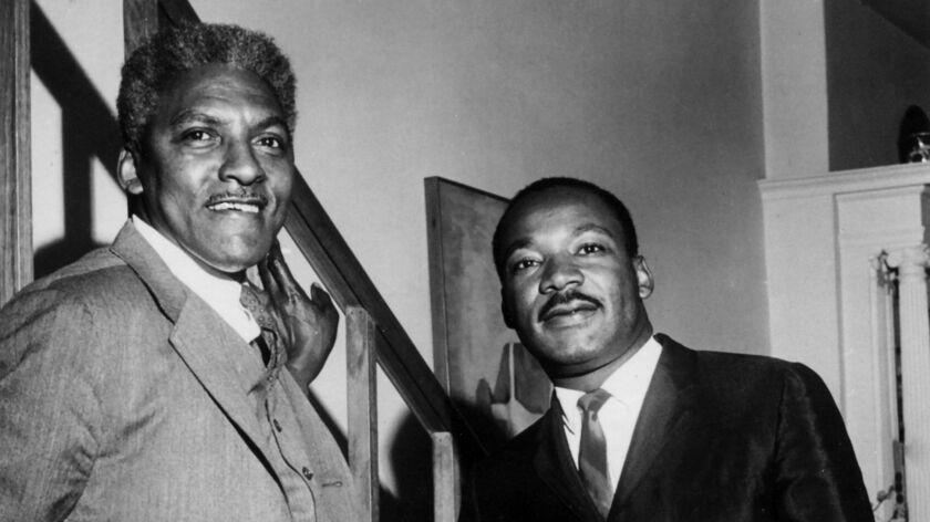 Bayard Rustin and MLK