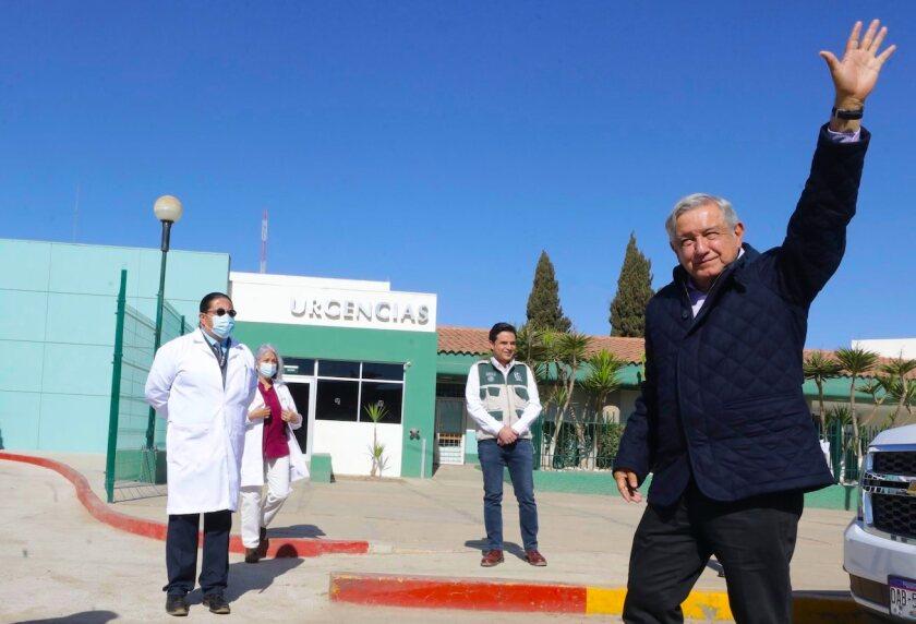 "México: AMLO confía en que ""ya va a pasar la pandemia"", pese a repunte"