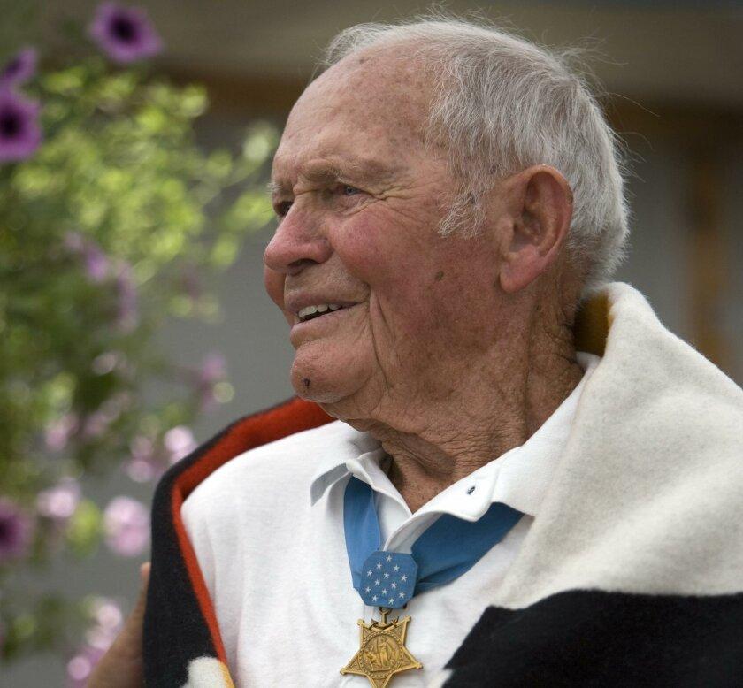 John Finn traveled extensively, discussing Pearl Harbor.