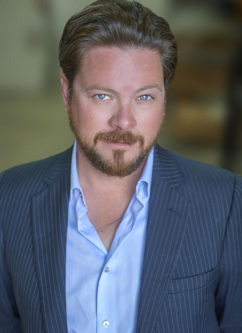 "Richard Baird stars in North Coast Repertory Theatre's ""An Iliad,"" streaming now through Jan. 3."