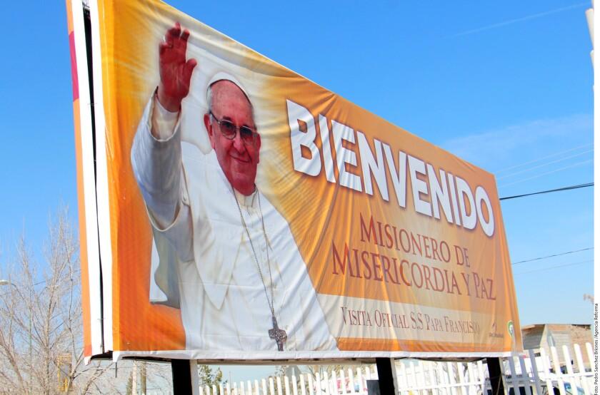 El próximo 17 de febrero, tras su llegada a Ciudad Juárez, el primer lugar que visitará el Papa será al Cereso Estatal 3, donde se reunirá con internos en el exterior de la capilla.