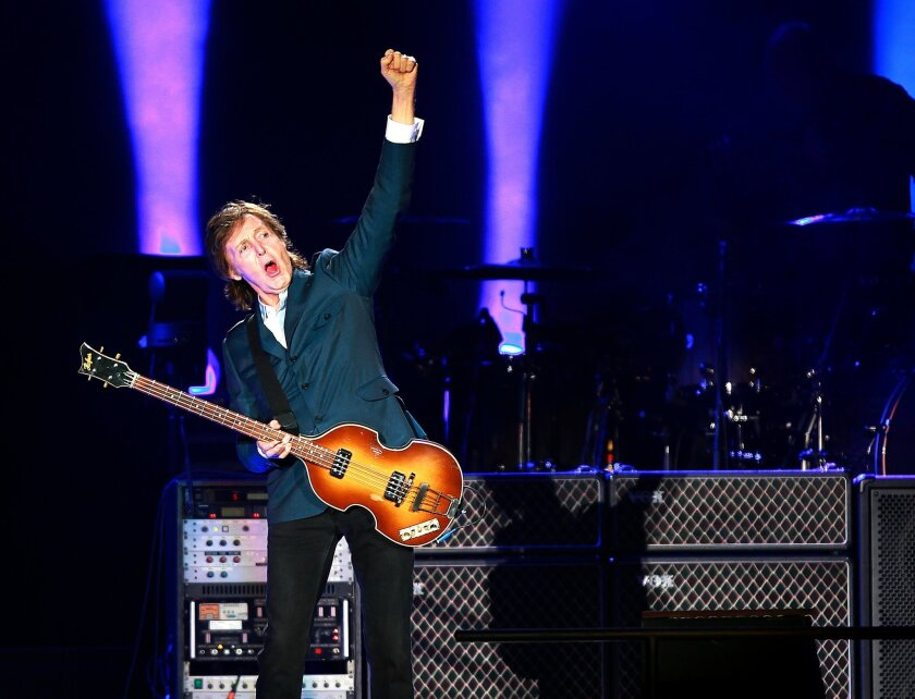 Paul McCartney wowed a sell-out crowd of 42,000 at his Petco