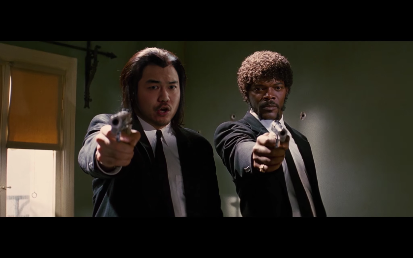"""Dumbfoundead makes a cameo in """"Pulp Fiction."""""""