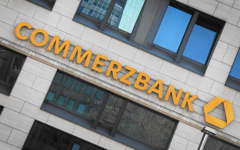 Commerzbank sues Wells Fargo over losses on mortgage-backed