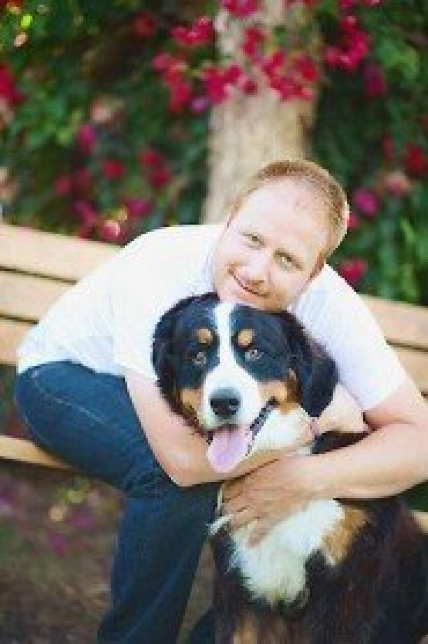 Graham Bloem, a professional certified dog trainer, with Juno. Courtesy photo