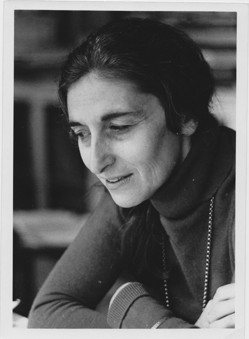 """An author photo of Ruth Prawer Jhabvala for her book """"At the End of the Century."""" Credit: Fay Godwin"""