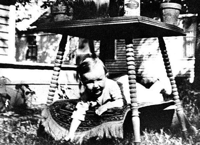George McGovern at 10 months.