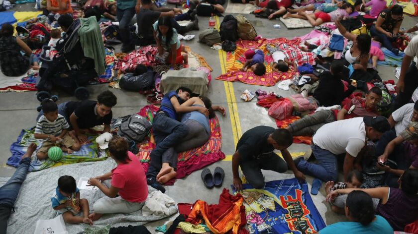 The migrant caravan heading north toward the United States border has angered President Trump, who threatened to send the military to close the U.S. southern border as a response.