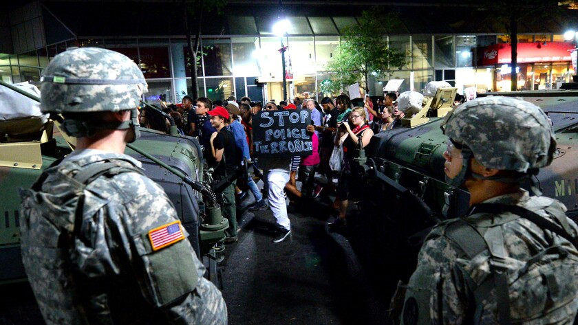 Charlotte protests