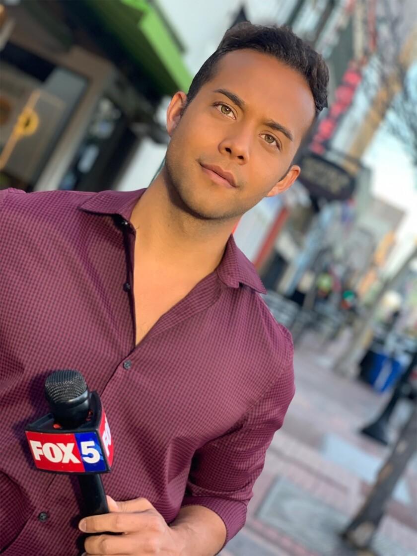 Aric Richards, reporter, Fox 5 San Diego