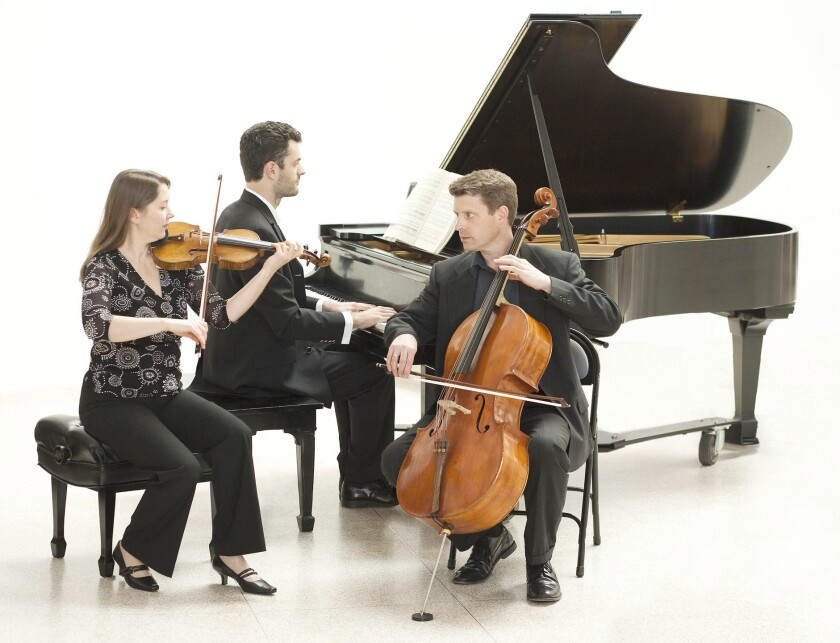 The Felici Piano Trio featuring Belgian pianist Steven Vanhauwaert, German violinist Rebecca Hang, and U.S. cellist Brian Schuldt will present a tribute to Beethoven's 250th birthday on Saturday.