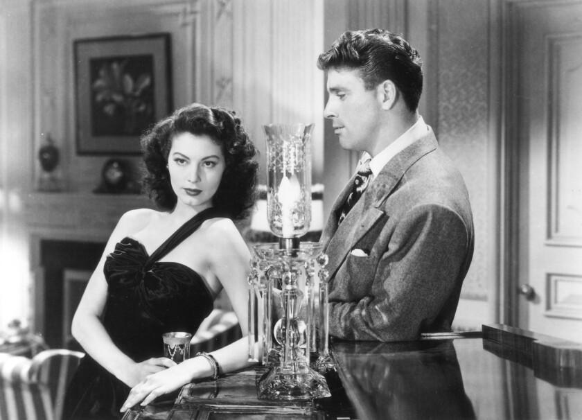 """The Killers"" (1946/b&w/105 min.) scr: Anthony Veiller; dir: Robert Siodmak; w/ Burt Lancaster, Ava"