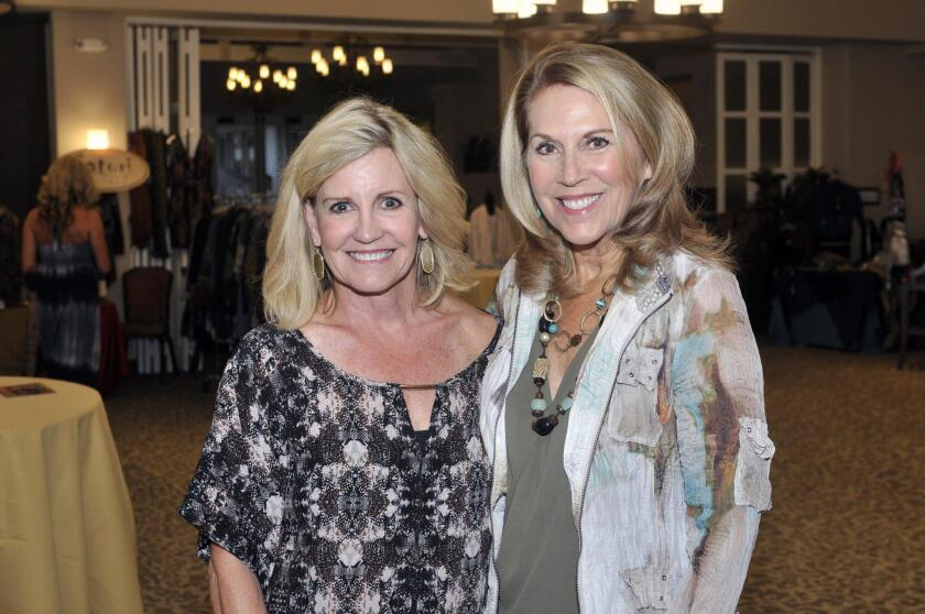 Event co-chairs Ginger Wood and Jan Smith