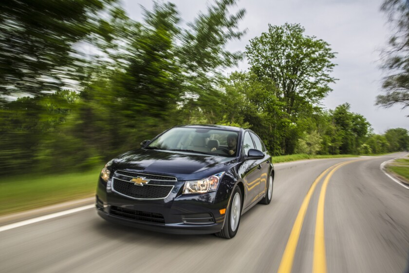 Available for $25,695, 2014 Chevrolet Cruze Clean Turbo Diesel offers the best highway fuel economy of any non-hybrid passenger car in America.