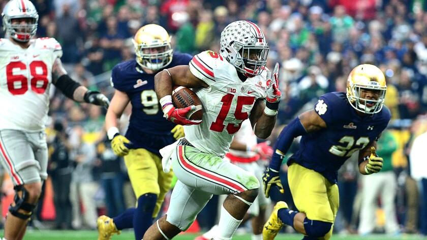 1. Ohio State's Ezekiel Elliott
