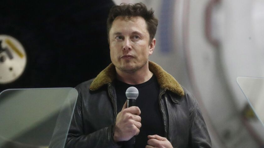 FILE PHOTO - Tesla's Elon Musk Accused Of Securities Fraud