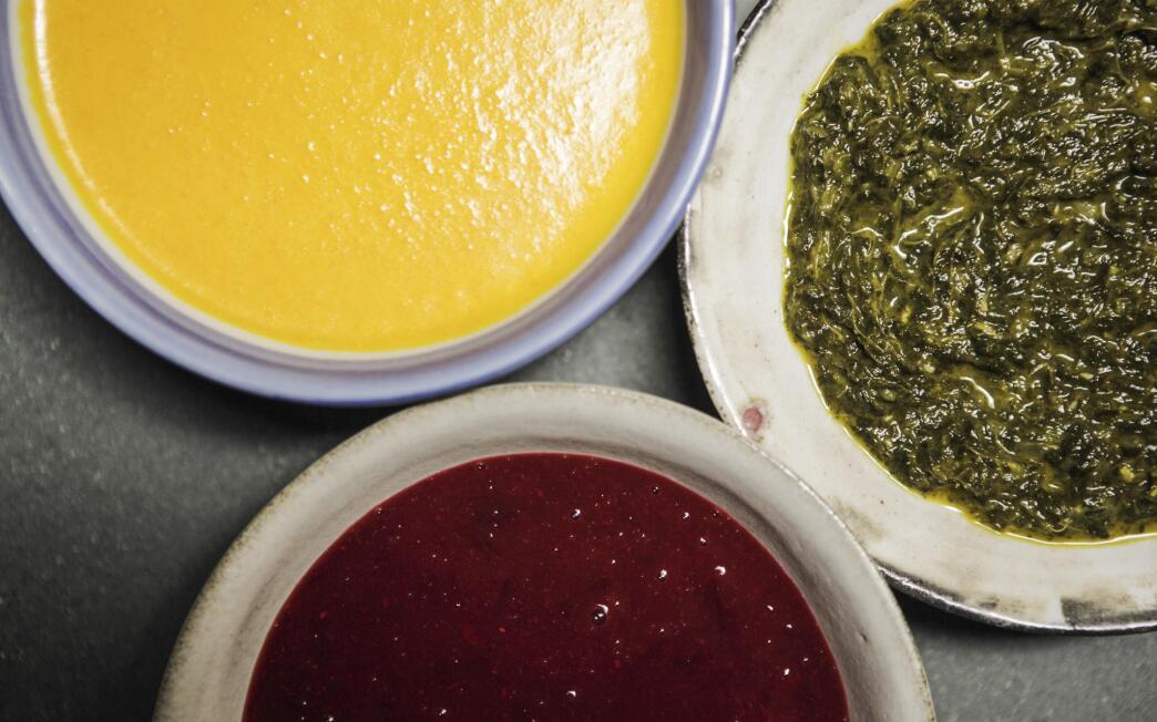 Plum or pluot table salsa