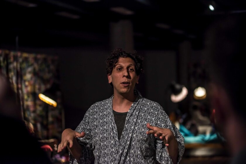 """Playwright Brian Lobel will present the virtual theater piece """"Binge"""" in La Jolla Playhouse's Without Walls (WOW) series in 2020."""