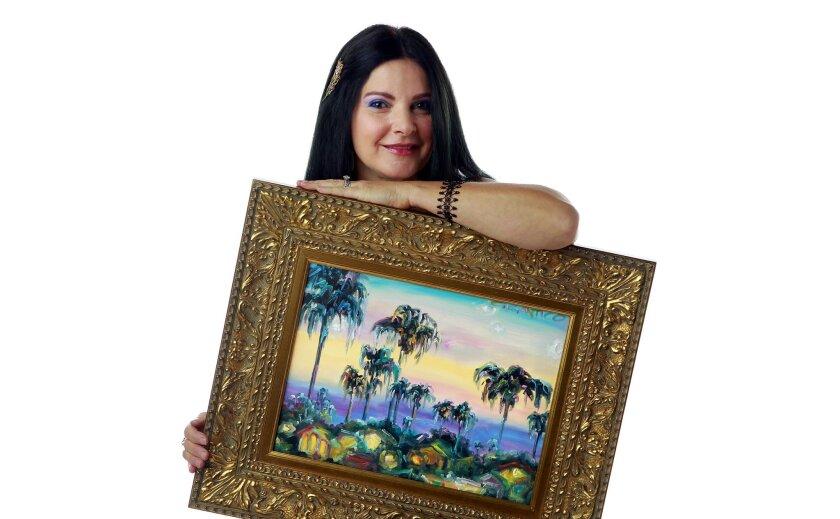 Fine artist Concetta Antico