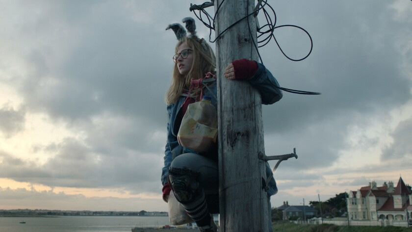 "Madison Wolfe in the movie ""I Kill Giants."""