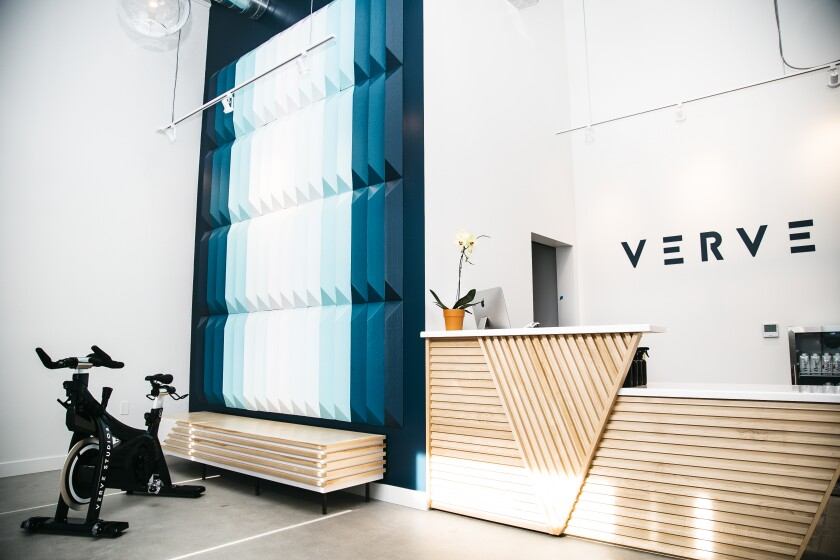 Verve Studios in Del Mar just celebrated its one year anniversary.