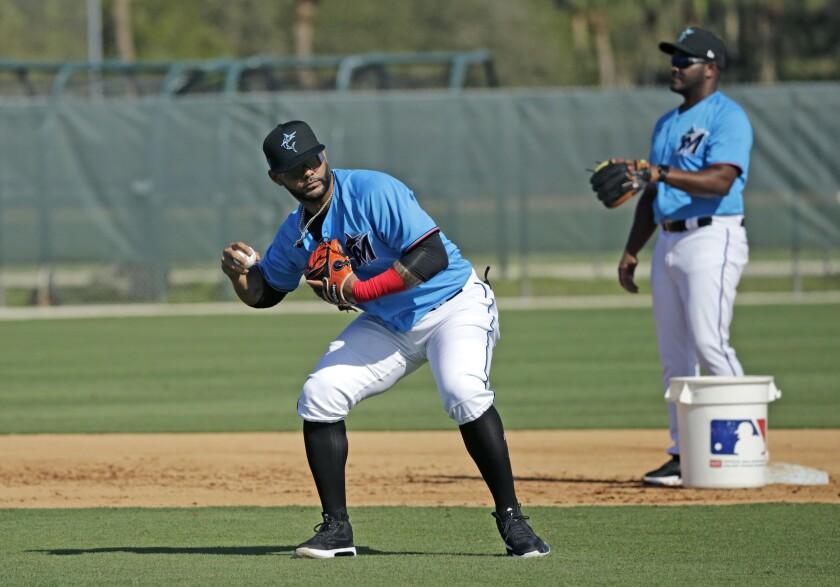 Marlins Spring Baseball