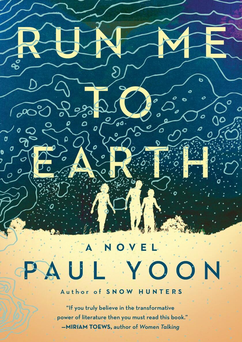 """Run Me to Earth"" book jacket."