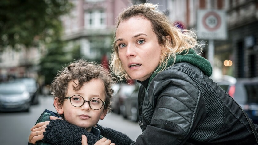 Diane Kruger and Rafael Santana in IN THE FADE, a Magnolia Pictures release. Photo courtesy of Magno