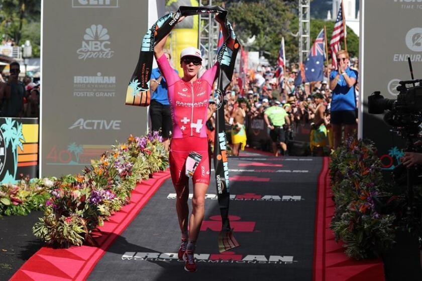 La suiza Ryf gana su cuarto título mundial consecutivo en el Ironman de Hawái