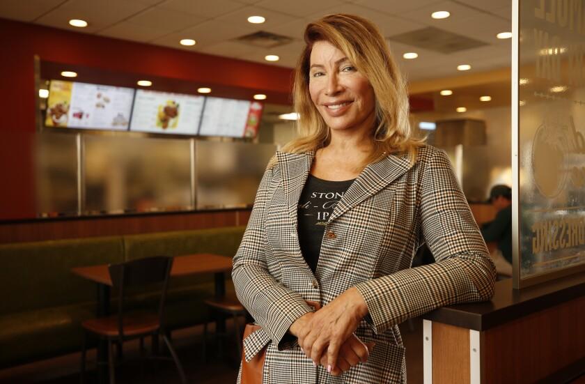 Michaela Mendelsohn, chief executive of Pollo West Corp.