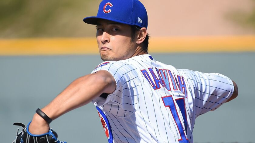 MLB: Chicago Cubs-Workout