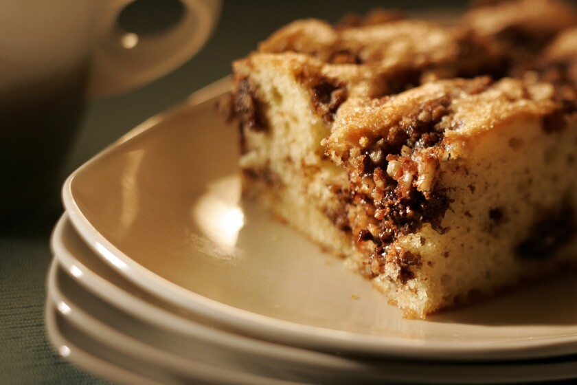Heirloom Bakery and Cafe's sour cream coffeecake