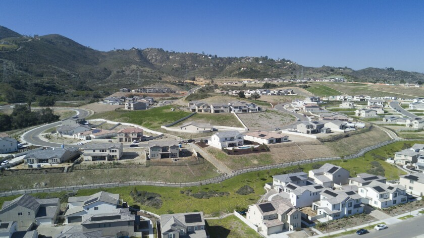 The new Harmony Grove Village in Escondido, which was built in the semi-rural part of Escondido, photographed Friday February 6, 2020.
