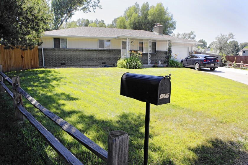 Shannon Conley, whose Arvada, Colo., home is pictured, was detained by the FBI in April as she boarded a flight on her way to Syria. She said she hoped to help militant fighters.