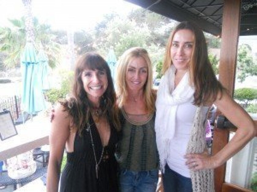 Event committee (L-R): Laurel Smith of Solana Beach, Susan von Posern of Solana Beach and Janet McCulley of Rancho Santa Fe. Not pictured: Debra Hart of Solana Beach, Patty Leitch of Del Mar and Dawn Levine of Laguna Beach. Courtesy Photo