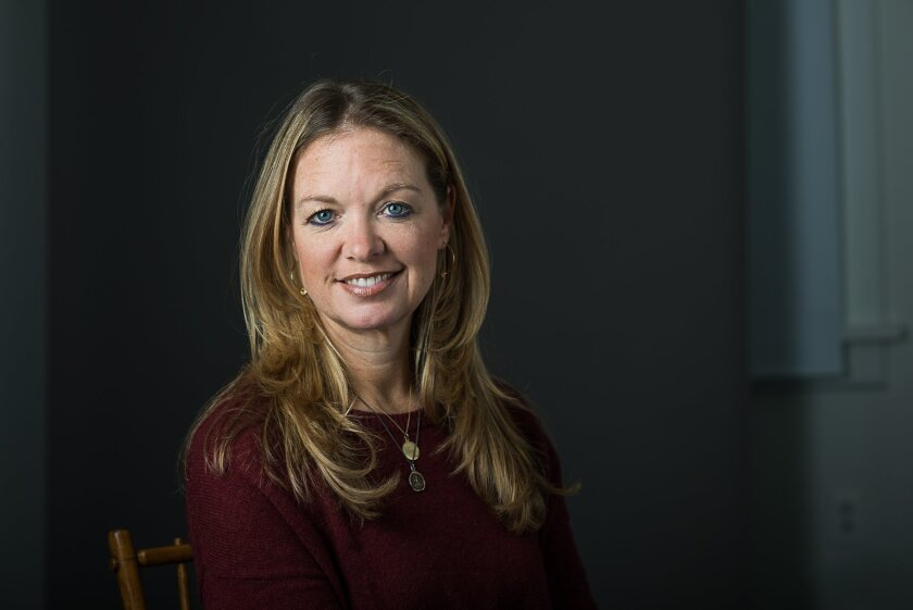 This April 2015 image released by Kathryn Huang Photography shows Brooke Lefferts in Maplewood, N.J. Lefferts, a former senior producer for Fox News and an editor and writer for outlets including Today.com and FoxNews.com, has been named as the U.S. Entertainment Video Editor for the The Associated
