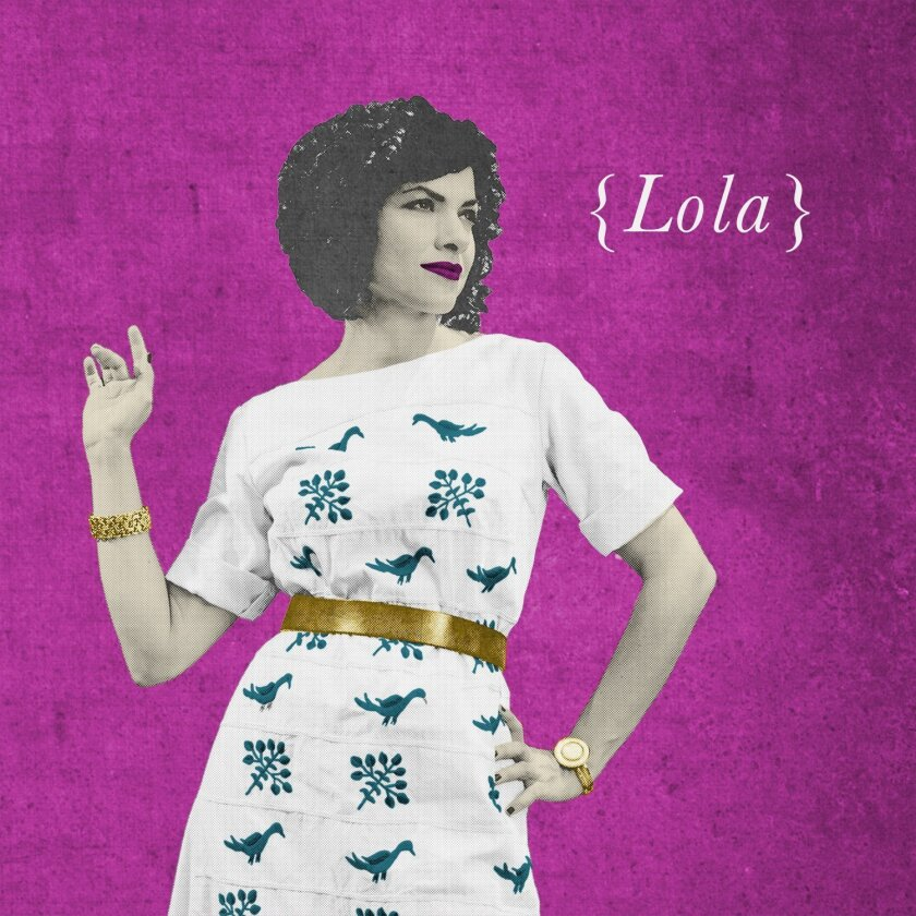 "This CD cover image released by Luz Records shows ""Lola,"" a release by Carrie Rodriguez. (Luz Records via AP)"