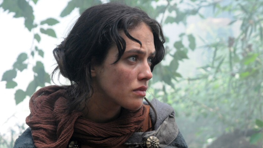 """""""Labyrinth"""" stars Jessica Brown Findlay as a teen on a mission in 13th-century France."""