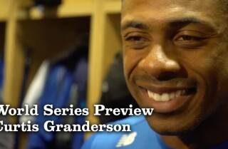 Curtis Granderson discusses playing in his third World Series