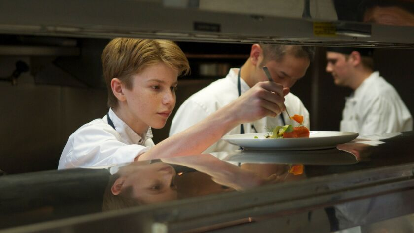 """Flynn McGarry in a scene from """"CHEF FLYNN."""" Credit: Kino Lorber"""
