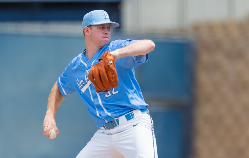 USD right-hander Jake Miller signed with the Indians.