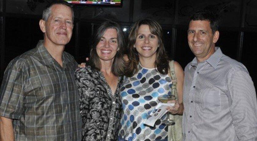 Doug and Wendy Austin, Carole and Steve Ross (Photo: Rob McKenzie)