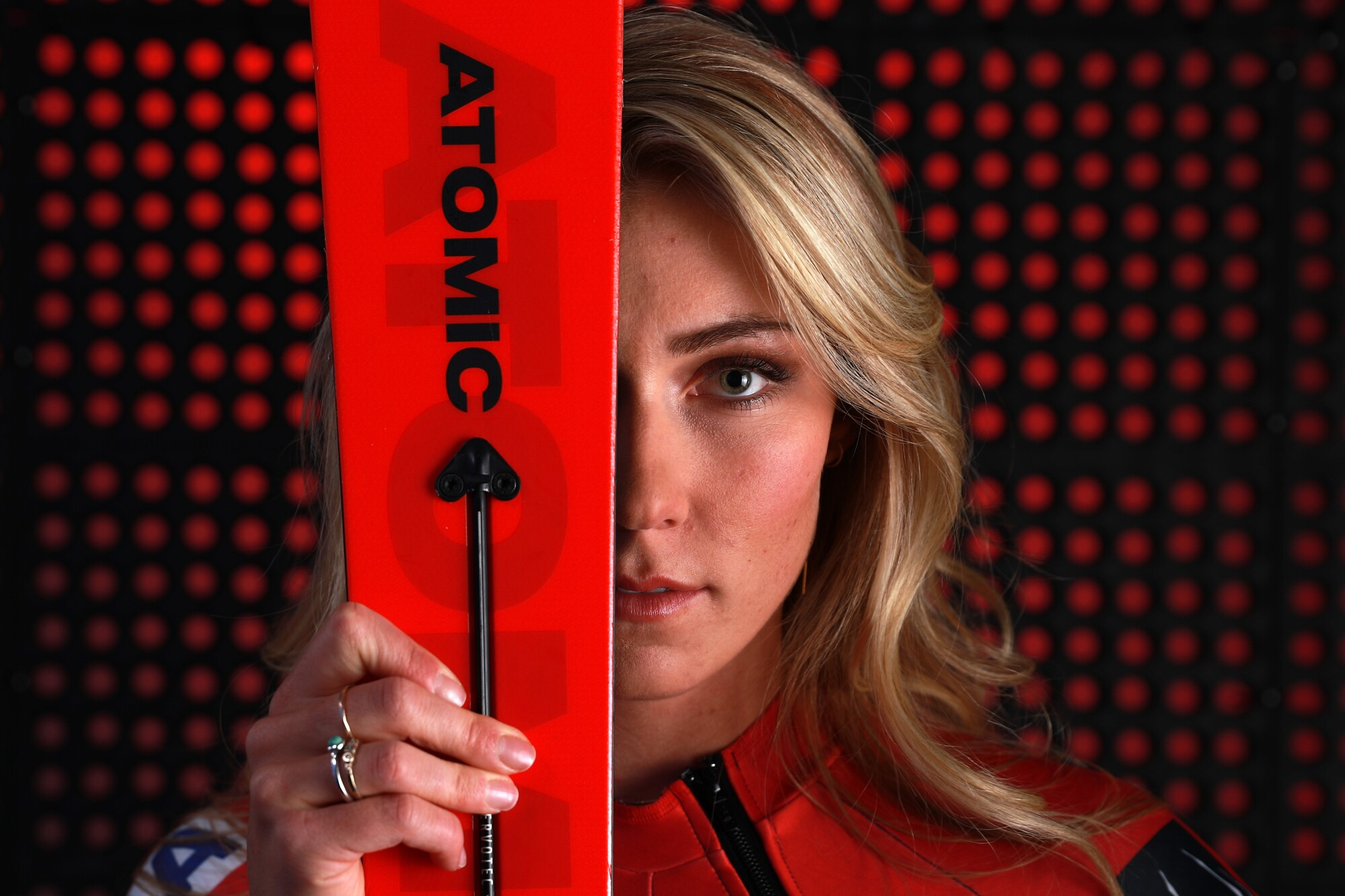 Alpine skier Mikaela Shiffrin poses for a portrait during the Team USA Media Summit ahead of the PyeongChang 2018 Olympic Winter Games on September 25, 2017 in Park City, Utah.
