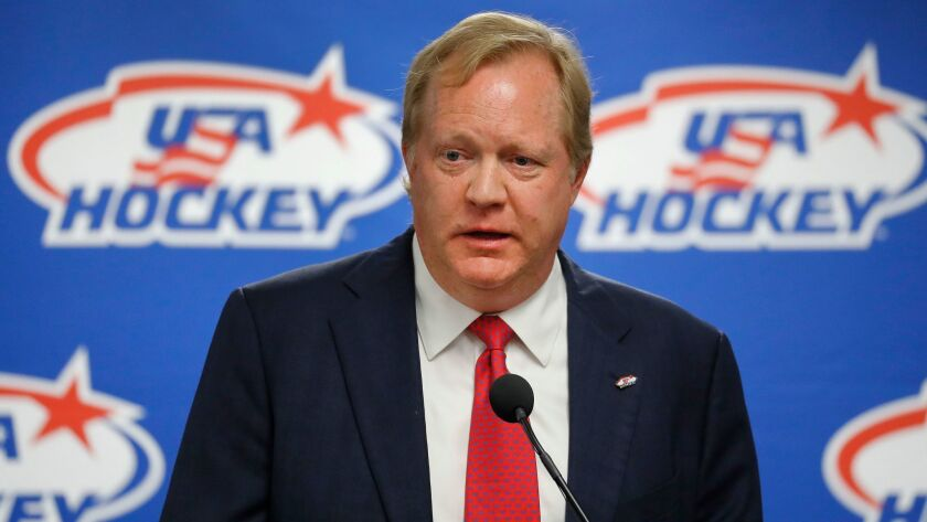 Jim Johannson, the general manager of the U.S. Olympic men's hockey team, died in late January but left an indelible mark on the program.