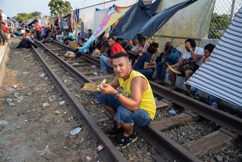 Gobierno mexicano despliega 103 policías en estación migratoria en Chiapas