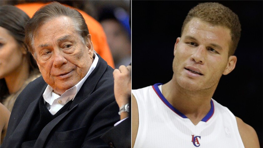 Donald Sterling, Blake Griffin