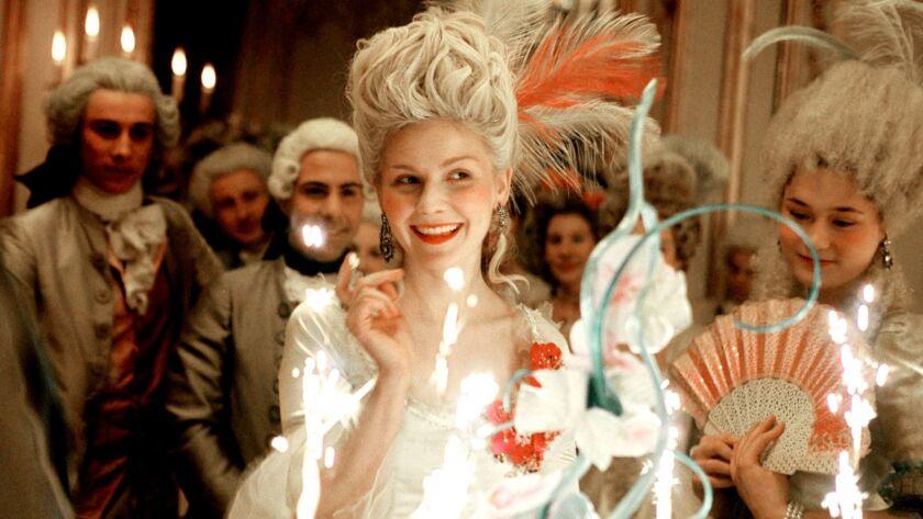 """Kirsten Dunst in """"Marie Antoinette."""""""