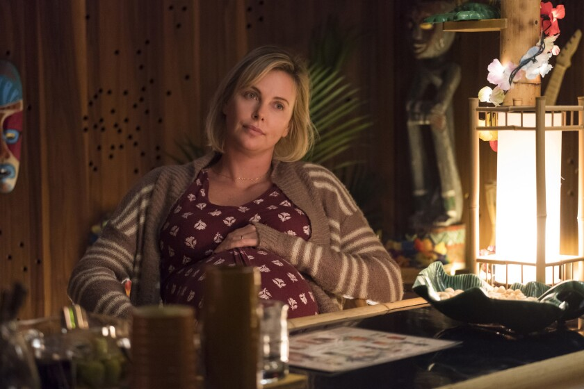 Charlize Theron as Marlo in Jason Reitman's TULLY, a Focus Features release.