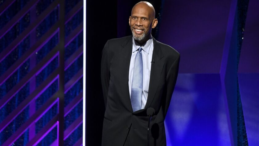 Former Laker Kareem Abdul-Jabbar is auctioning off four of his five Lakers championship rings and hundreds of items of personal memorabilia to help fund his charity.