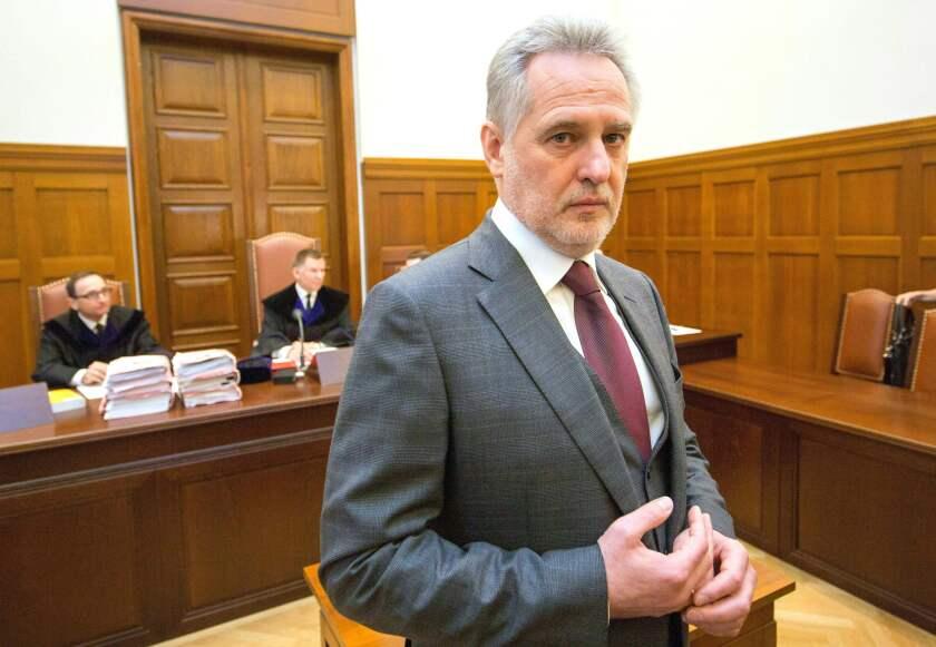 Ukrainian oligarch Dmytri Firtash